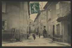 Combovin (Drôme). - Grand'Rue  - Combovin