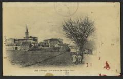 Upie (Drôme). - Vue prise de la route de Crest  - Upie