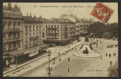 Valence (Drôme) - Place de la République  - Valence