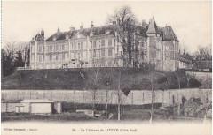 Château de Louye (côté Sud) - Louye