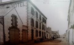 053 Saint-Guénolé La rue de la gare - Penmarch