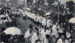 Couronnement Nd Kernitron 1909 clergé - Lanmeur