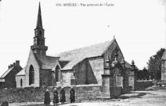 Eglise Brélès 1900 - - Brélès
