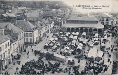 Foire Landivisiau 1920 - Landivisiau