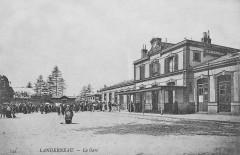 GareLanderneau1900 - Landerneau