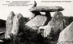 Goulven Dolmen des Korrigans - Goulven