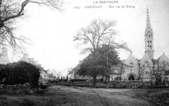 Guengat vers 1920 - Guengat