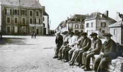 Guilvinec Vieux pêcheurs vers 1925 - Guilvinec