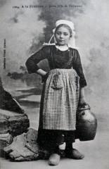 Jeune fille de Trégunc - Trégunc