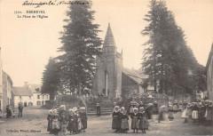Kernevel la place de l'église - Rosporden