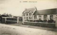 L'école communale de Lanmeur (1930 environ) - Lanmeur