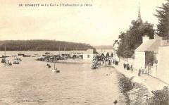 La cale et l'embouchure de l'Odet au début du XXème siècle - Bénodet