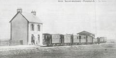 La gare de Saint-Guénolé-Penmarc'h - Penmarch