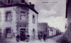 La grande rue de Lesconil en 1915 - Plobannalec-Lesconil