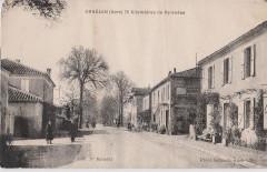Ornézan - Rue principale (CP Samuel) - Ornézan