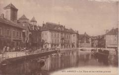 Annecy - Le Thiou et les vieilles prisons (CP Abem) - Annecy