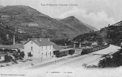 Gare-Arreau-Bv-voies-CPancienne - Arreau