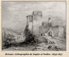 Château de Brissac (Hérault) (2) - Brissac