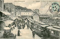 Hlm 724 - Cote D'Emeraude - Cancale - La Houle - Le départ du Tramway 35 Cancale