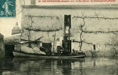 W0152 Cpa 98-Inondation12-1910 LeBasBriaceUnDemenagementPrecipite - Le Landreau