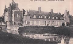 Cp Château de la Rivière, Châtenoy, Loiret, France - Châtenoy
