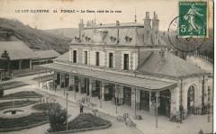 Baudel 11 - Figeac - Le Lot Illustre - La Gare, coté de la voie 46 Lot
