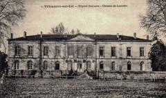 Château de la Mothe hôpital lors de laguerre de 1914-1918 - Villeneuve-sur-Lot