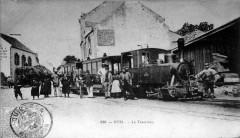 600mm gauge Tramway de la Trinité à Etel, circa 1908  - Étel