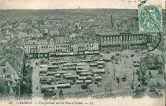 Vue générale vers la Place d'Armes - Cambrai