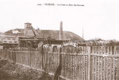 Vicoigne fosse n°4 (Lebret) vers 1900 - Raismes
