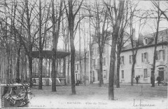 Mauléon-Allée des Tilleuls (1908) - Mauléon-Licharre