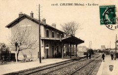Caluire Gare 1910 - Caluire-et-Cuire