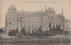 Solesmes - Abbaye des Bénédictins - Vue de face - Juigné-sur-Sarthe