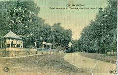 Eld 105 - Barbizon - Point terminus du tramway et Hôtel de la Foret