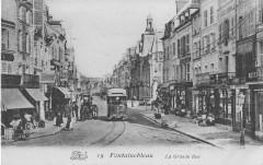 Inconnu 19 (Dragon) - Fontainebleau - La Grande Rue - Fontainebleau