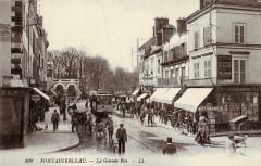Ll 100 - Fontainebleau - La Grande Rue - Fontainebleau