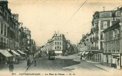 Ng 374 - Fontainebleau - La Place de l'Etape - Fontainebleau