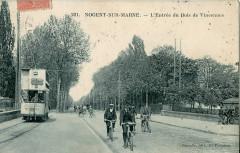 Faciolle 221 - Nogent sur Marne - L'Entrée par le Bois de Vincennes