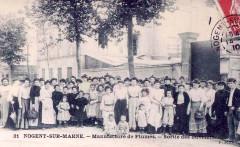 Nogent sur Marne Manufacture de plumes 1910
