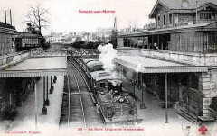 Nogent-sur-Marne - La gare - Ligne de Vincennes