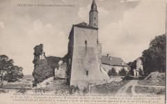 Vellèches - Ruines château de Marmande (CP) - Vellèches