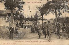 Arrivée du 21e Bataillon de Chasseurs à Pied - Raon-l'Étape