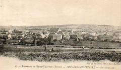Carte postale ancienne Sougères-en-Puisaye - Sougères-en-Puisaye
