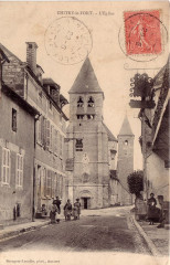 Chitry le fort, L'église - Chitry