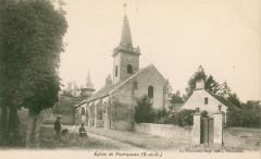 Eglise de Fourqueux - Bourdier carte postale - Saint-Germain-en-Laye