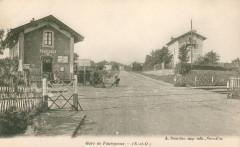 Gare de Fourqueux - Bourdier carte postale - Saint-Germain-en-Laye