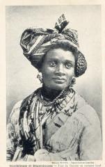 Guadeloupe costume féminin