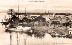 Guadeloupe les quais de Pointe-à-Pitre