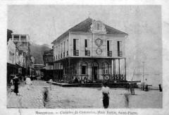 Chambre de commerce, place Bertin, Saint-Pierre