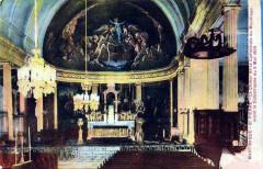 Intérieur de la cathédrale de Saint-Pierre de la Martinique